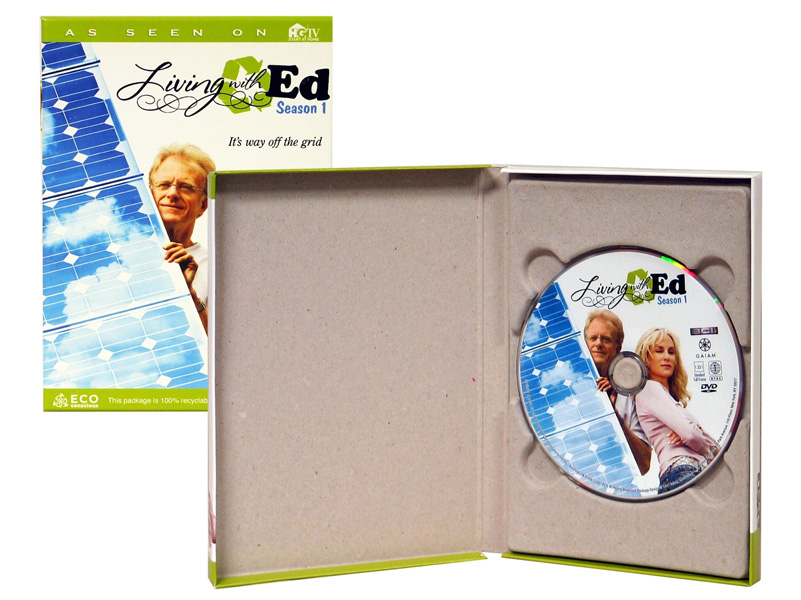 Green Recycled Earth Friendly CD/DVD Binders