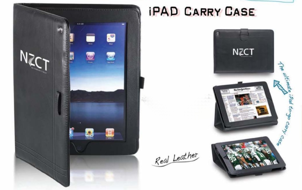 ipad Carry Case Leather