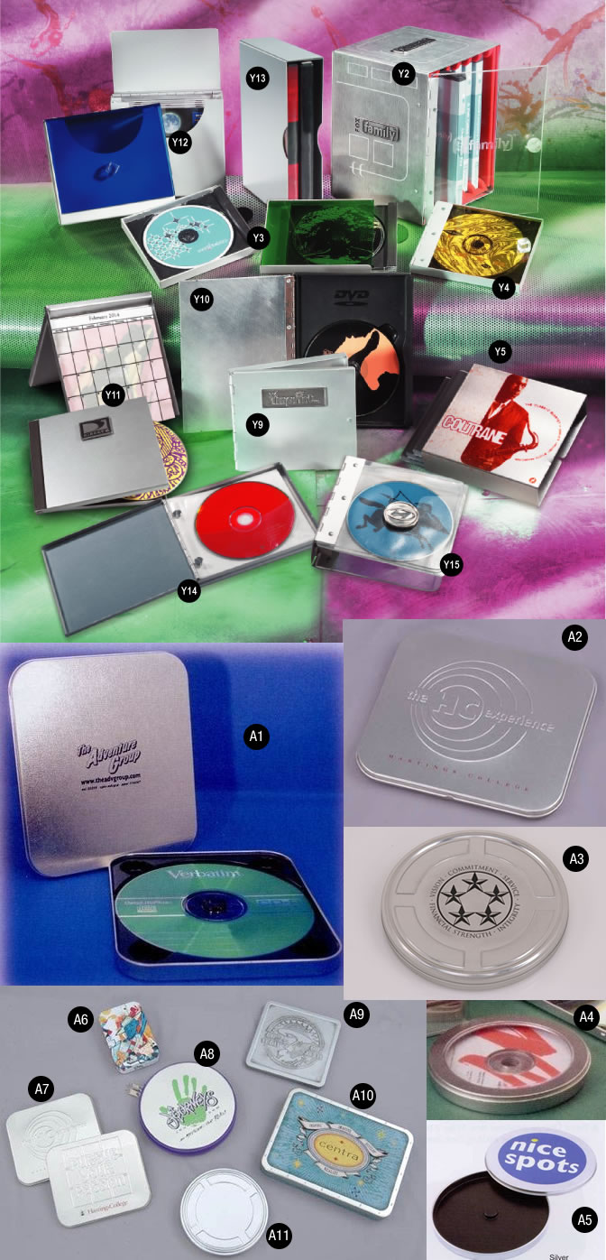 Custom Materials CD & DVD Packaging