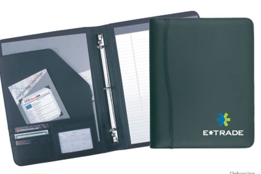 Executive Stitched Binder Letter Size with writing pad
