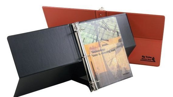 Executive Easel Split Back Binder Letter Size