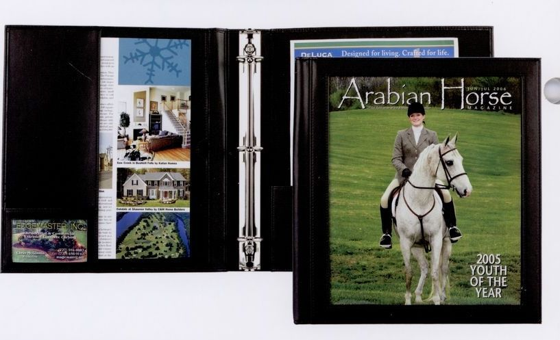 executive stitched view binder letter size executive view binder